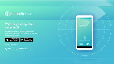 Két hónap alatt háromezer bejelentés érkezett a HulladékRadar alkalmazáson keresztül