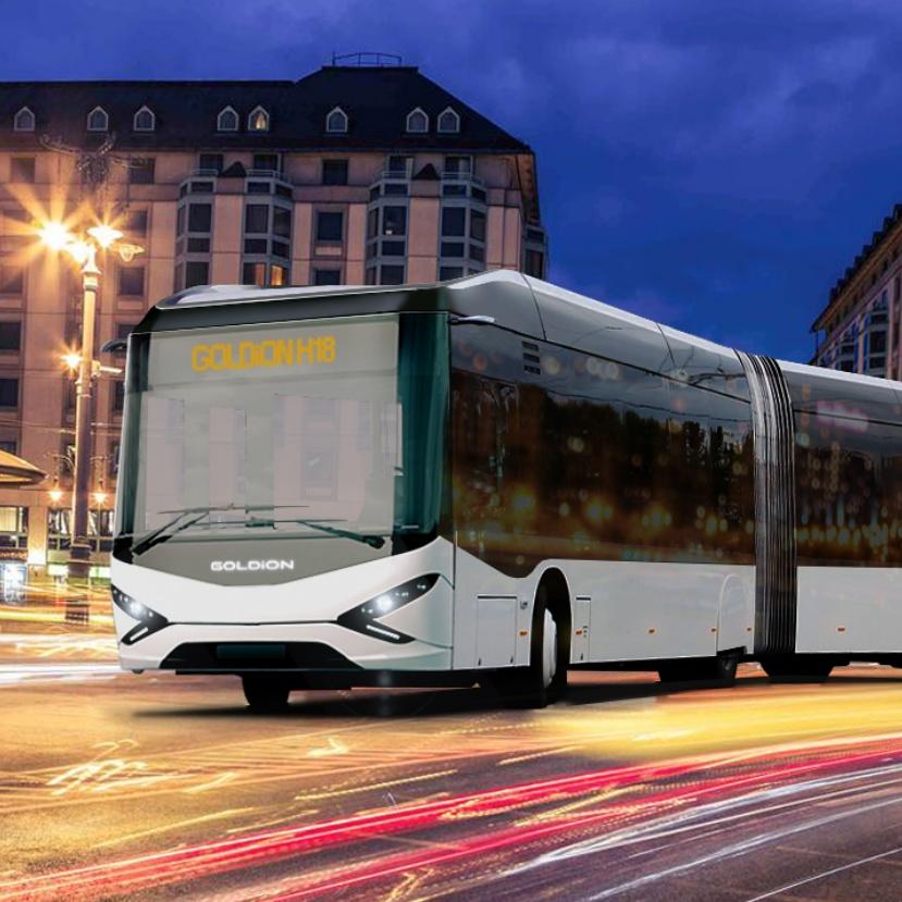 Hidrogénüzemű csuklósbuszt fognak gyártani Magyarországon