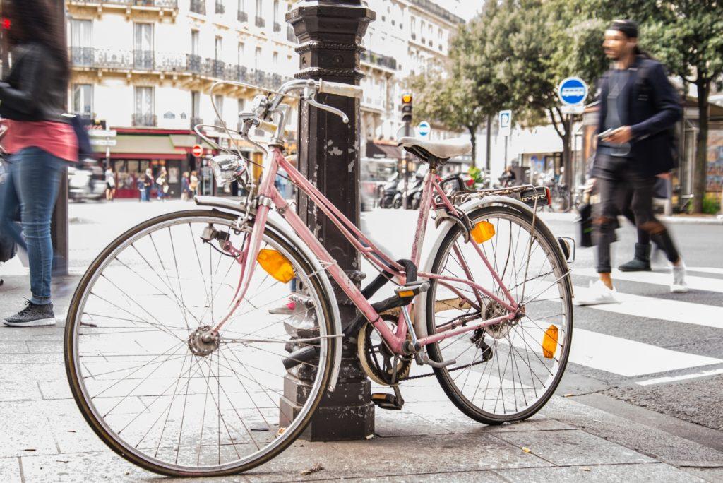 kerékpár a városban