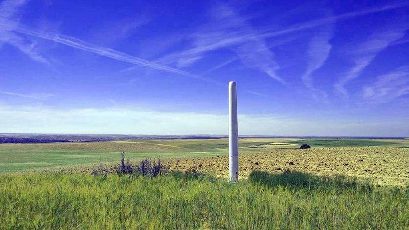 szélenergia oszlop szélturbina