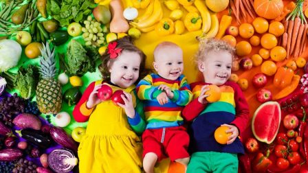 zöldség az egész