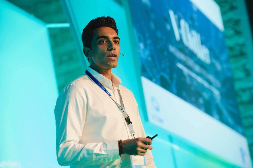 Amir Wasily, a V-Chiller ügyvezetője