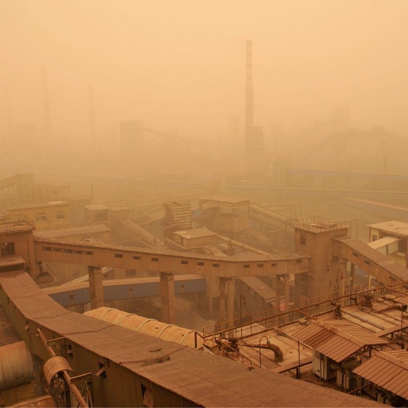 Homokviharok formájában támadja Kínát a klímaváltozás