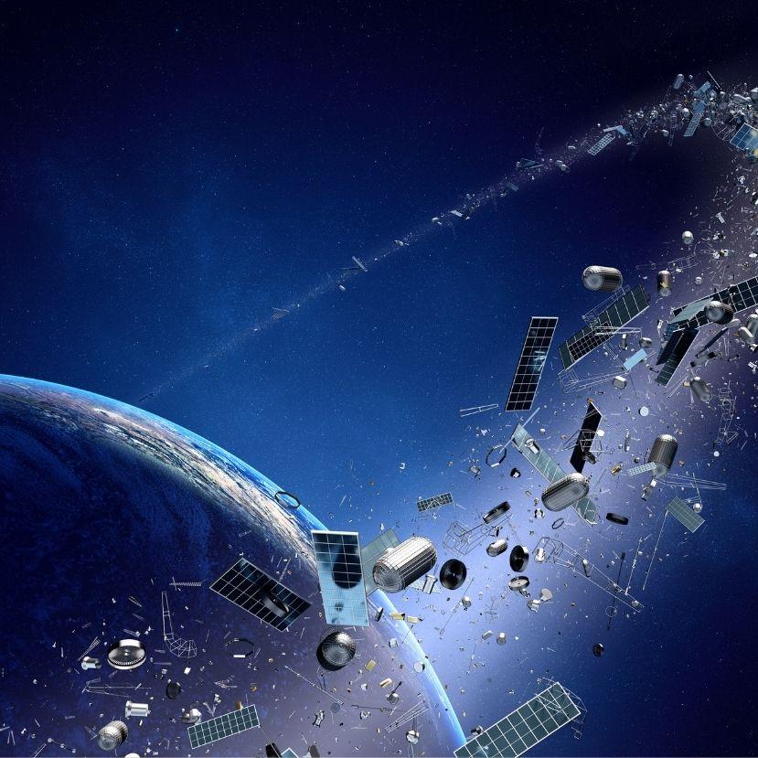 A teleszemetelt égbolt már az űrkutatást is veszélyezteti