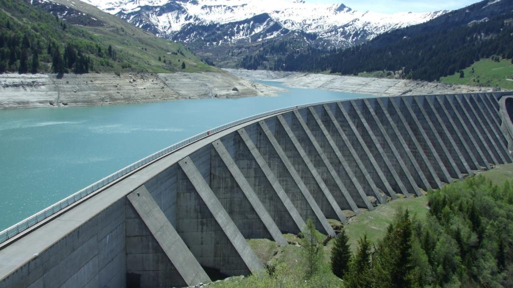 hegyek vízenergia víz