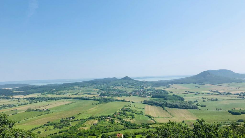 Balaton-felvidék táj