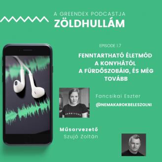 Fancsikai Eszter - Zöldhullám podcast