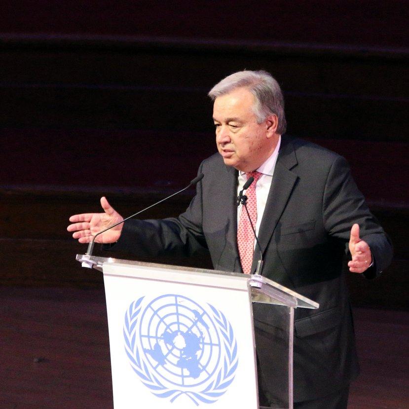 Kemény szavakkal ostorozza a fejlett országokat az ENSZ főtitkár