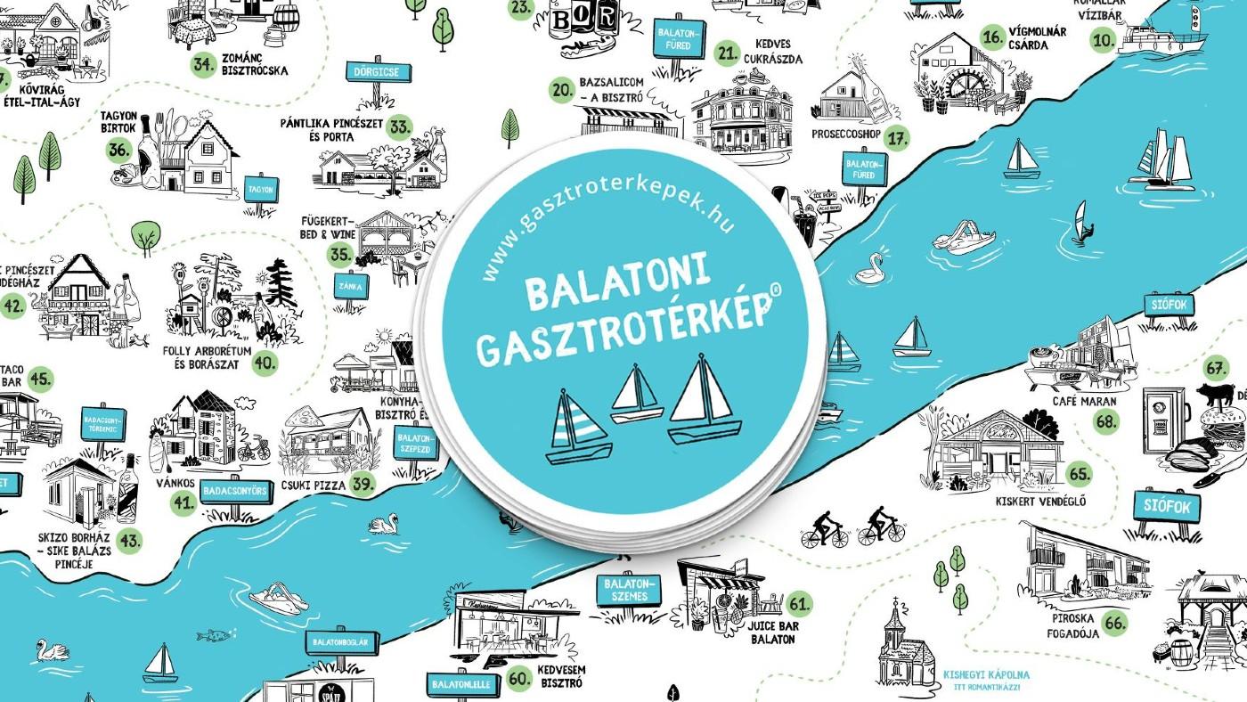 A fenntarthatóság az idei Balatoni Gasztrotérkép egyik legfontosabb üzenete