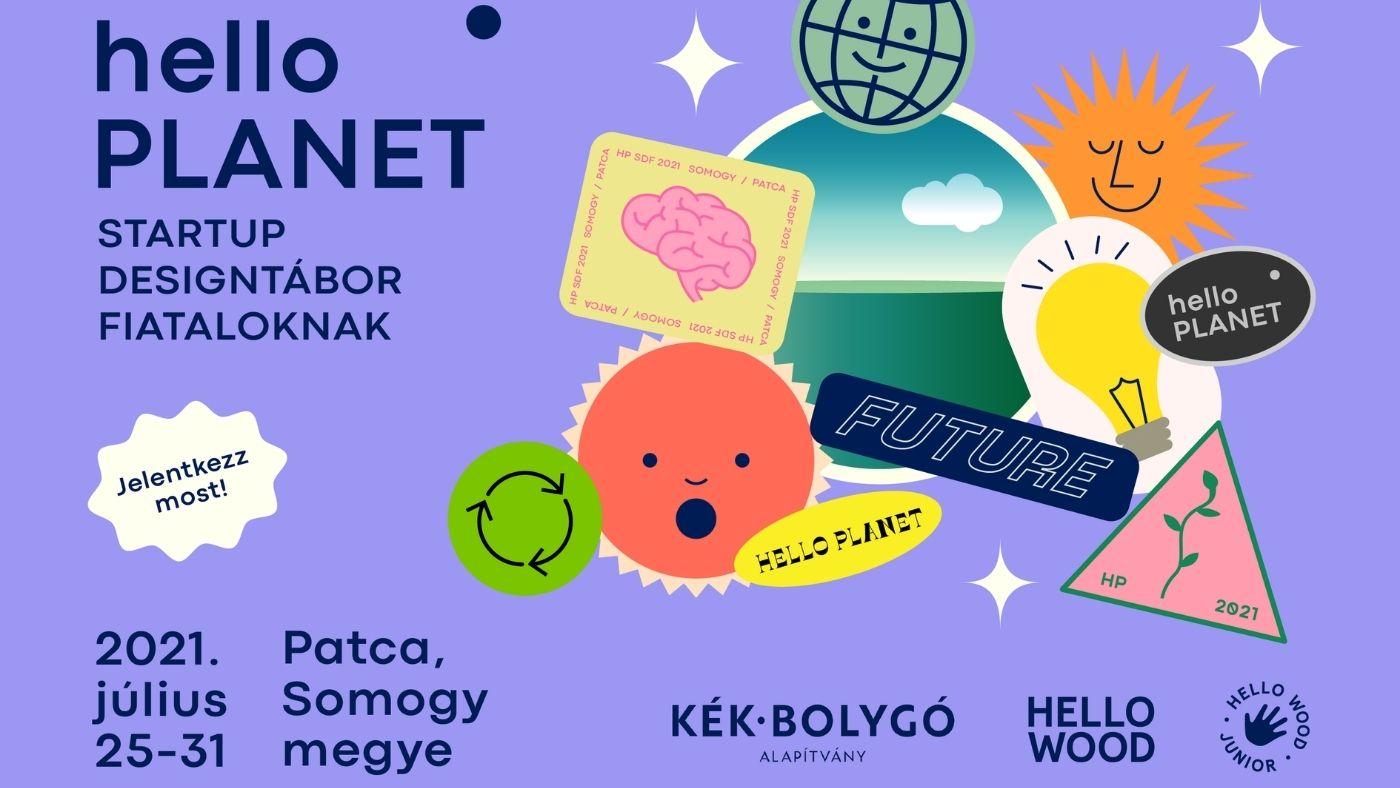 Hello fiatalok! Itt a Hello Planet design tábor!