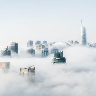 modern város