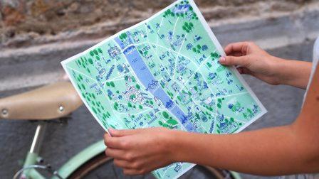 Green Guide Budapest térkép