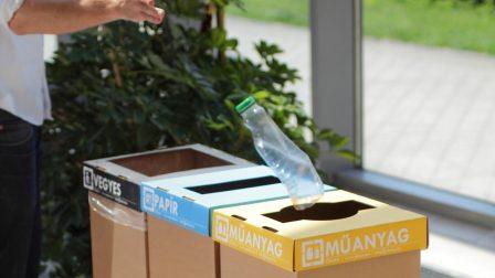 Recobin szelektív hulladék kuka