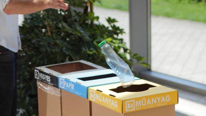 Recobin szelektív hulladék kukák