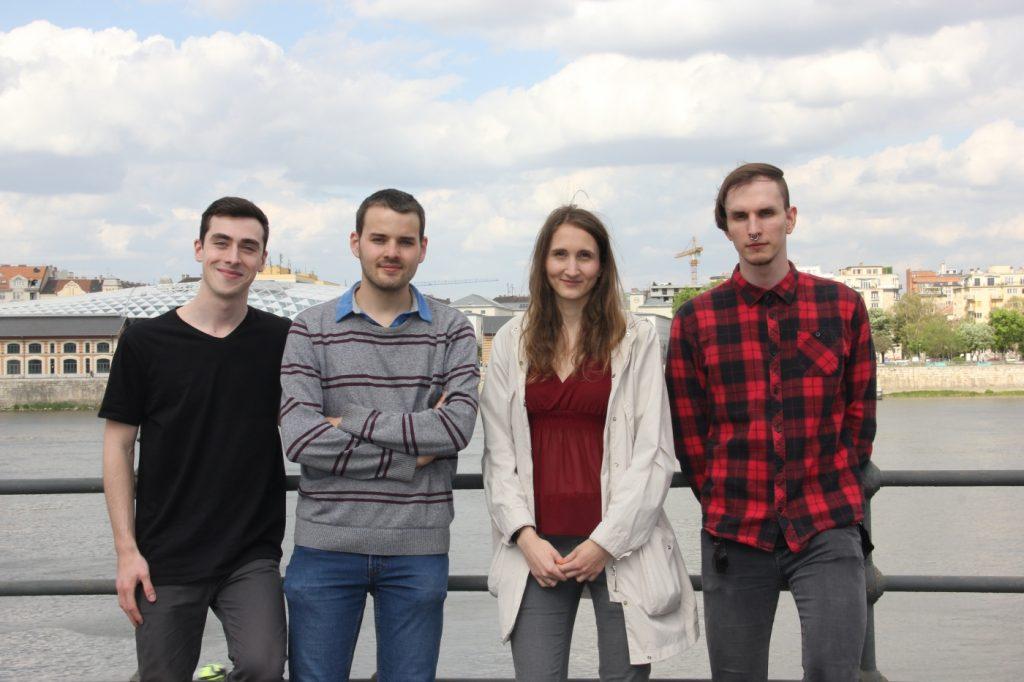 Water MiniLab: Óré Dániel - CFO, Szombathy Péter - CEO, Czipó Bernadett - COO, Pasics Richárd - CTO