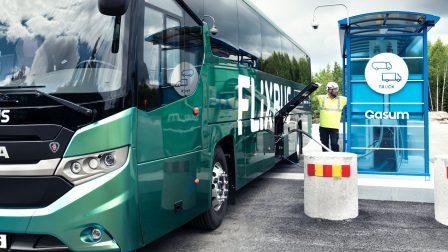 Biogázzal üzemelő járatokat indított a FlixBus