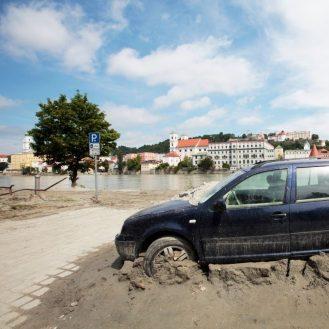 árvíz Németország Passau 20210615