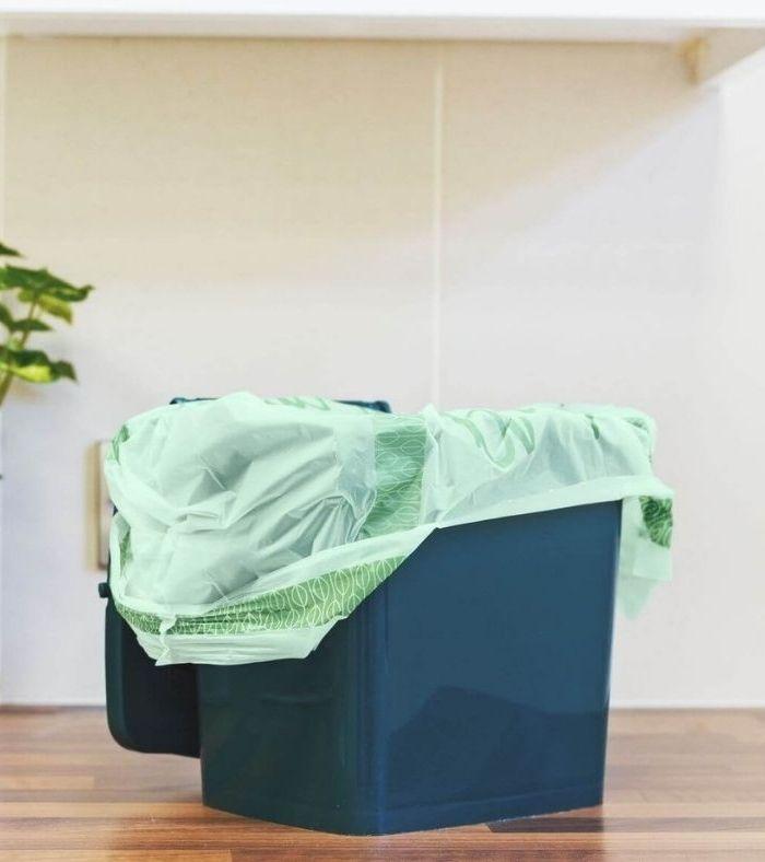 Vigyázó szemetek a komposztálható műanyagra vessétek!