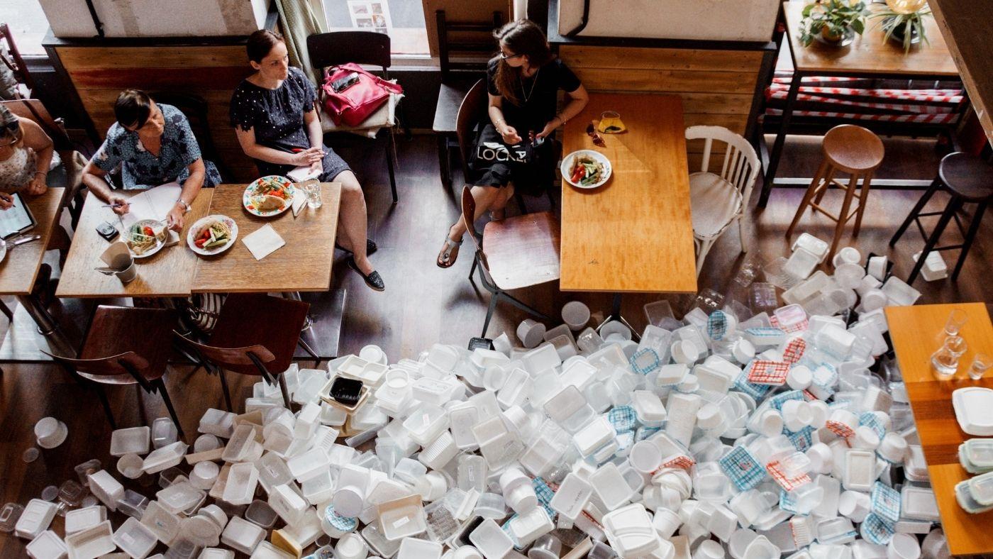 Műanyag törvény után mi a helyzet az éttermekkel?