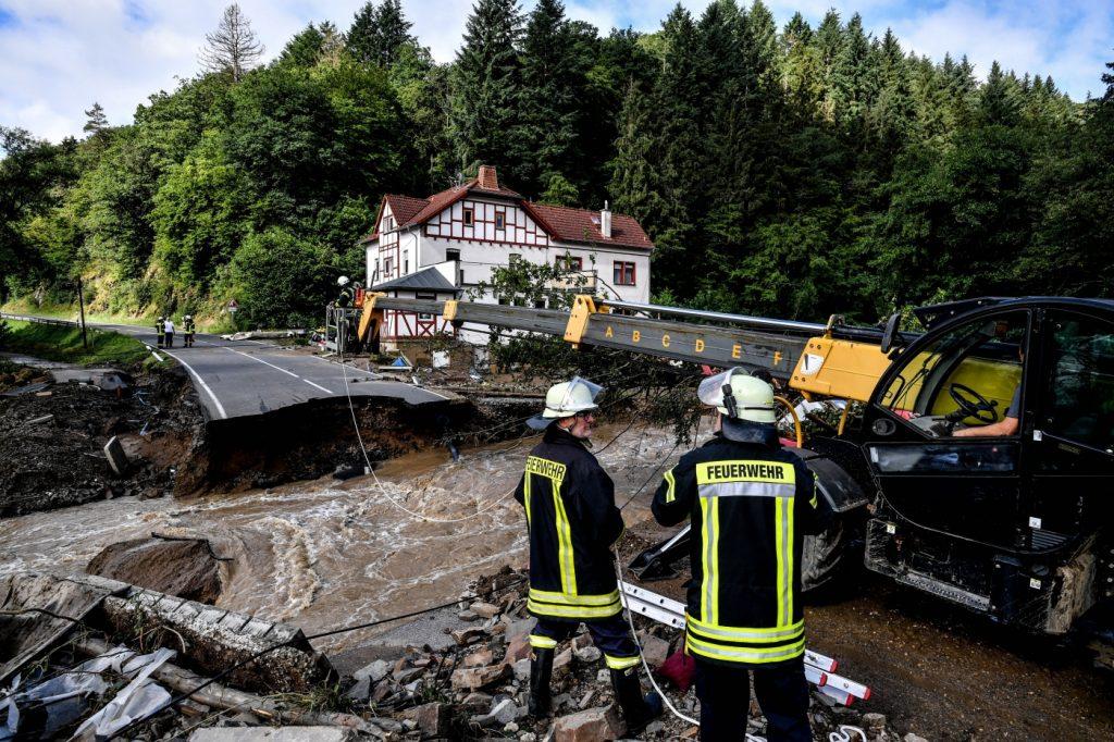 német áradás 2021 villámárvíz