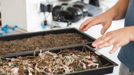 Műanyagból 100%-os komposzt