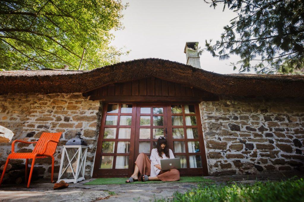 Sivák Zsófi a HybridCycle rezidenciaprogramjának ideje alatt