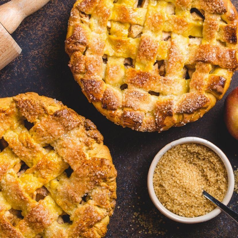 Nem fogsz hízni, ha így eszed az almás pitét