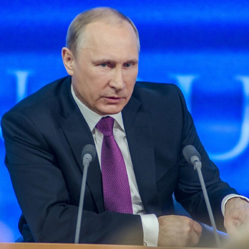 """Putyin: """"Fontos, hogy intenzíven és rendszerszinten foglalkozzunk a klímakérdéssel"""""""
