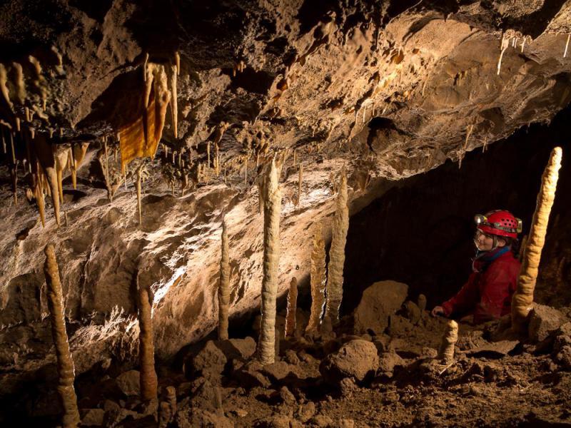 barlangtúra csodabogyós-barlang
