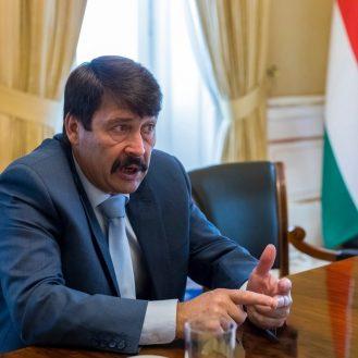 Áder János Magyarország köztársasági elnöke