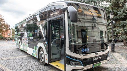 Veszprémben folyatódik a Zöld Busz program