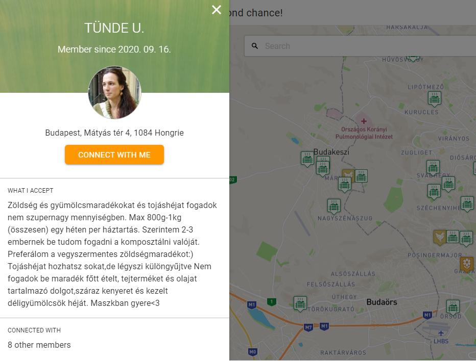 sharewaste komposztáló applikáció