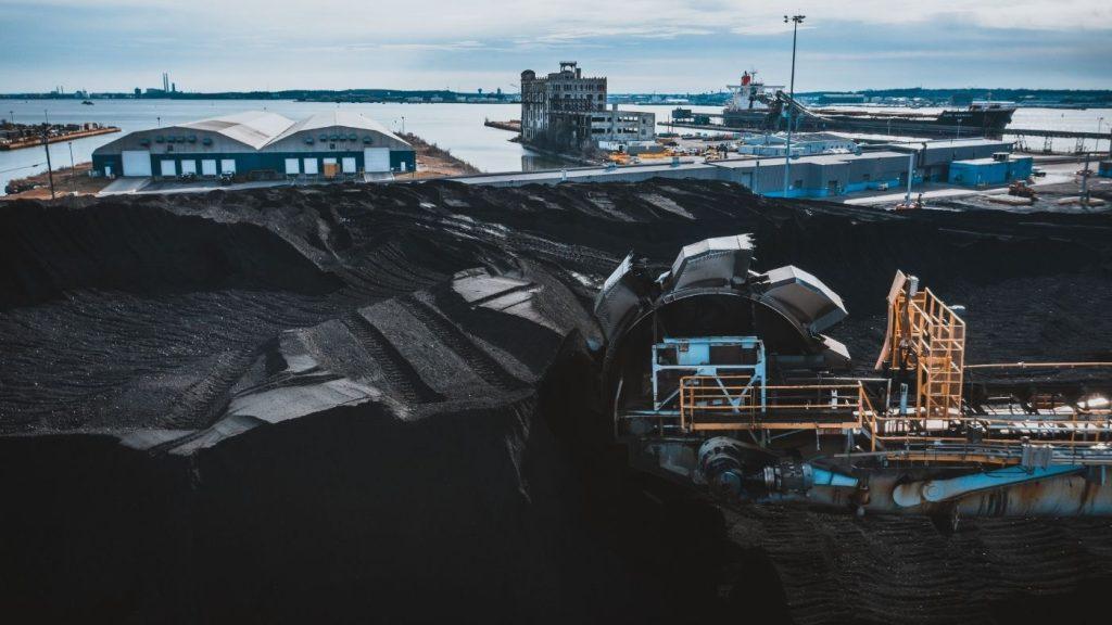 szénbányászat
